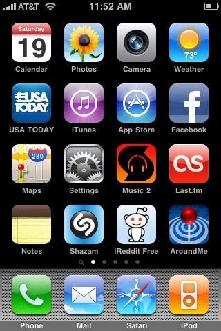iphone screenshoot